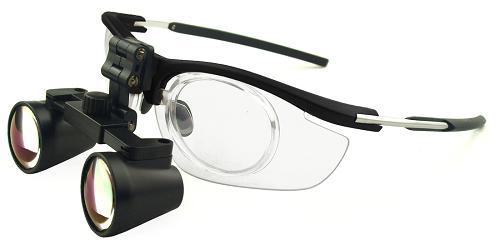 Lupenbrille sehstärke-clip Brillenträger