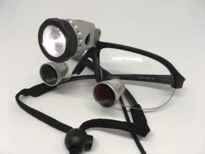 lupenbrille mit licht